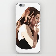 Lana with Cigarette iPhone & iPod Skin