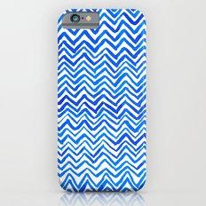 Blue triangle pattern Slim Case iPhone 6s