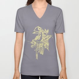 Tropical Infection Unisex V-Neck