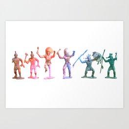 Neon Indians Art Print