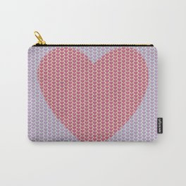 Heart Overload Valentine Issues Carry-All Pouch