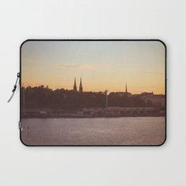 Postcard from Tallinn Laptop Sleeve