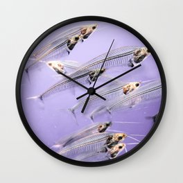 Phantom Catfish Wall Clock
