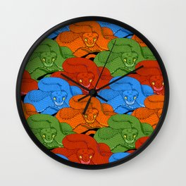 serpent Wall Clock