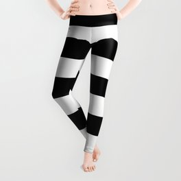 Black & White Stripes- Mix & Match with Simplicity of Life Leggings
