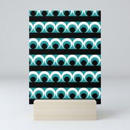 Geometric pattern Mini Art Print
