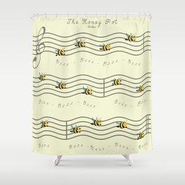 The Honey Pot Shower Curtain