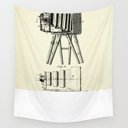 Photographic Camera-1885 Wall Tapestry