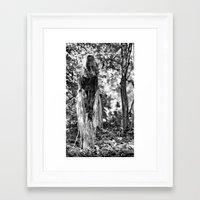 creepy Framed Art Prints featuring Creepy by Artist31