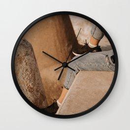 Port Life:  Jeju Island, Korea Wall Clock