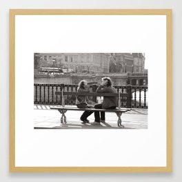 Talk to me Framed Art Print