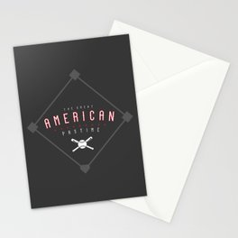 Baseball - The Great American Pastime Stationery Cards