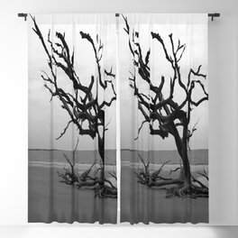 Ghost Trees Blackout Curtain