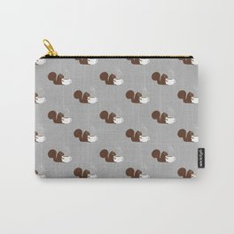 Squirrel Coffee Lover Carry-All Pouch