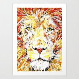 Leo Art Print