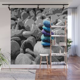 Staying Stones Wall Mural