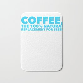 Coffee the 100 replacement to sleep Bath Mat