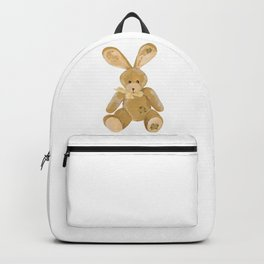 Beige toy Bunny Backpack