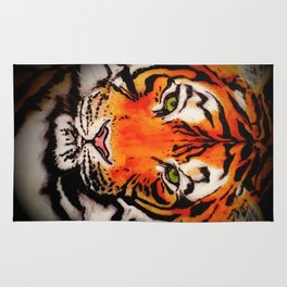 Tiger in the Shadows Rug