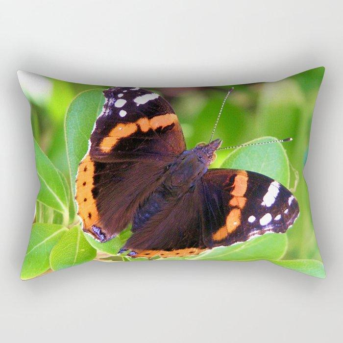 Society6 butterfly Rectangular Pillow