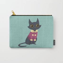Cozy cat red Carry-All Pouch