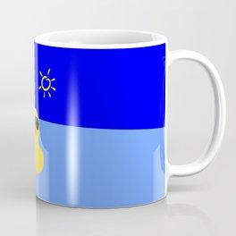 Cool Rubber Duck Yellow Coffee Mug
