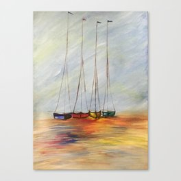 sailing ships Canvas Print