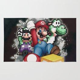 Mario et ses amis Rug