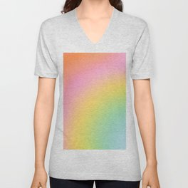 The Rainbow of Love #abstract #colourlove Unisex V-Neck
