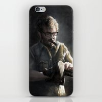 marc jacobs iPhone & iPod Skins featuring Marc Maron by Pavel Sokov
