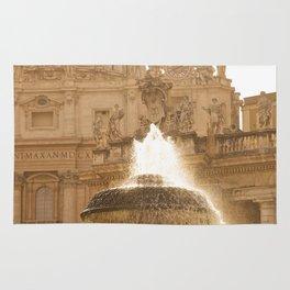 Bernini's Fountain Rug