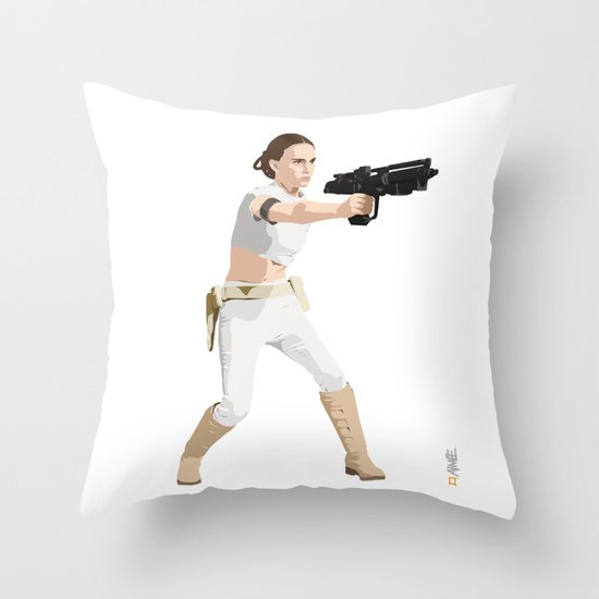Padme of Star Wars Throw Pillow