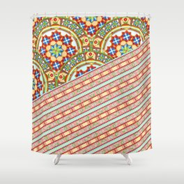 Design Confections Horizon Shower Curtain