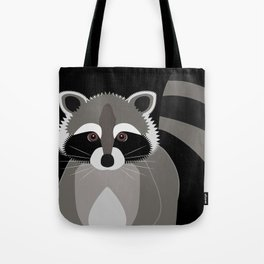 Raccoon in the Night Tote Bag