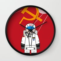soviet Wall Clocks featuring SOVIET by OSCAR GBP