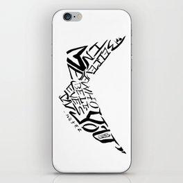 Calligranime: Me iPhone Skin