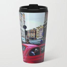 FIAT IN ROME Metal Travel Mug