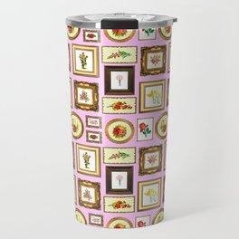 FRAMED FLORAL ART Travel Mug