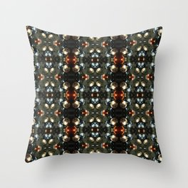 Christmas Bauble Pattern Throw Pillow
