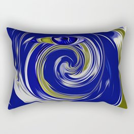 blue eye Rectangular Pillow