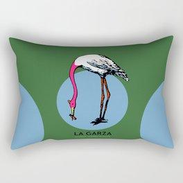 La Garza Mexican Loteria Card Rectangular Pillow