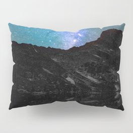 Milky Way Mountain Pillow Sham
