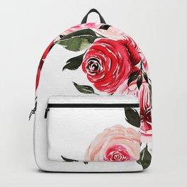 Vintage Rose Painting Backpack
