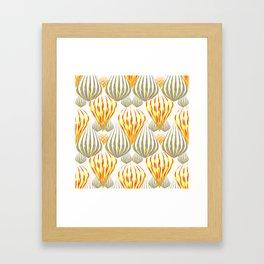 between the balloons Framed Art Print