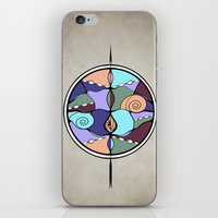 compass iPhone & iPod Skins featuring Compass by DebS Digs Photo Art