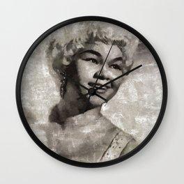 Etta James by MB Wall Clock
