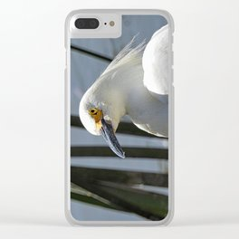 At A Glance Clear iPhone Case