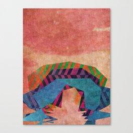 As it unfolds Canvas Print