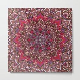 Farah Red Metal Print