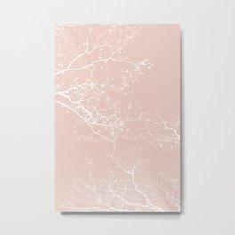 ROSE BRANCHES Metal Print